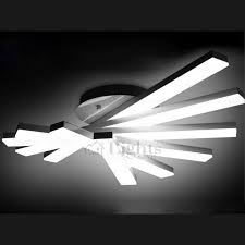 attractive modern led ceiling lights creative fan shaped rotate led ceiling light fixture