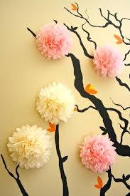 3d wall flowers tissue paper flower wall art 3d flowers wall art