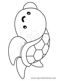 Tartaruga Marina Disegno Da Colorare Per Bambini