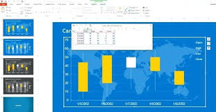 Stock Chart Excel Excel Stock Four Growth Rate Categories Excel ...