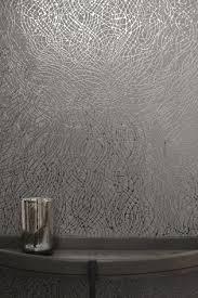 arthouse metallic swirl foil wallpaper