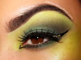 this will neutralize the natural redness in the skin giving it a more olive appearance follow with your foundation application green witchy eyes how to