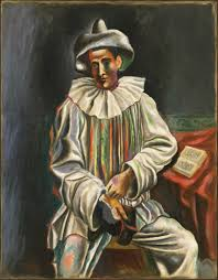 pablo picasso pablo picasso 1918 pierrot oil on canvas 92 7 atilde151 73 cm museum of modern art new york