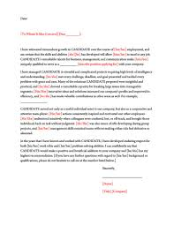 Employee Reference Samples Character Reference Letter 30 Samples For Court