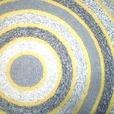 yellow and gray rug kitchen rugs trendy best grey collection chevron design