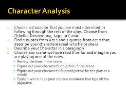 act scene othello ppt video online  character analysis