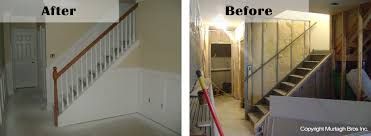 basement remodel contractors. Simple Contractors Finishing A Basement With Murtagh Construction On Basement Remodel Contractors E