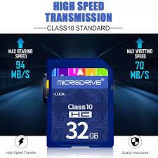 Thẻ SD Class 10 Thẻ Nhớ 8GB 16GB 32GB 64GB 128GB Dành Cho Máy Ảnh Canon  Nikon SLR Quay Video 4K 4.9