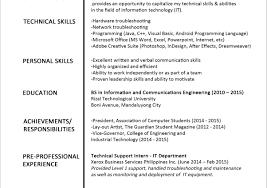 Resume Combination Resumes Stunning Combination Resume Template