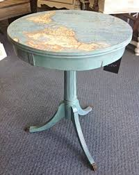 End Table Paint Ideas I Like Using The Nautical Compass Rose As A Painting Idea For A