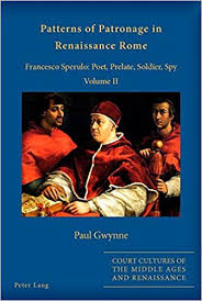 Patterns Of Patronage In Renaissance Rome Francesco Sperulo Poet Simple Sper Poetry