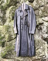 artisan leather coat