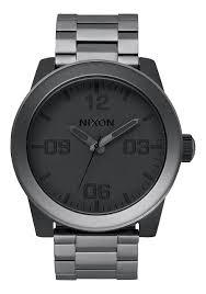 corporal ss men s watches nixon watches and premium accessories corporal ss matte black matte gunmetal