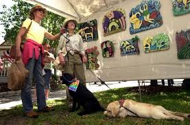 Bark About Art gives canines something to woof about - News - Ocala.com -  Ocala, FL