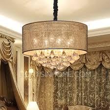 drum chandelier glass drum chandelier shades