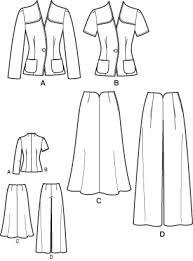 Suit Pattern Impressive Simplicity 48 48's Retro Suit