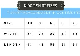Child T Shirt Size Chart By Age Kids T Shirt Sizes Dress Size Chart Size Chart Shirts