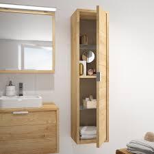 Allibert Bathroom Cabinets Allibert Badmbel Set Palermo Eiche Hell 120 Cm 3 Teilig Kaufen
