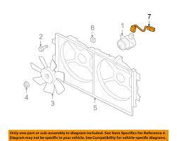 mitsubishi oem 08 15 lancer engine cooling fan wiring harness image is loading mitsubishi oem 08 15 lancer engine cooling fan