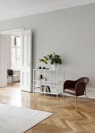 Bruno armchair by Mats Theselius from Kllemo and NAP chair by Kaspar Salto  from Fritz Hansen  Light Grey Painted WallsGrey ...