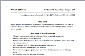chef resume sample chef resume chief baker resume