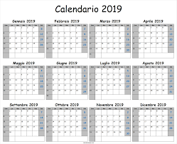 Calendario 2019 Archives Calendario Da Stampare