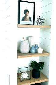 wall shelves in bathroom shelf for built