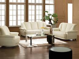 Awesome White Leather Living Room Furniture Images - Living room furniture white
