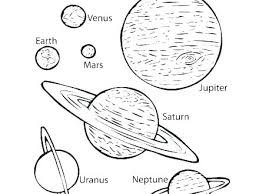 Planet Coloring Pages At Getdrawingscom Free For Personal Use