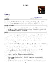 Network And Computer Systems Administrator Sample Resume Adorable System Administrator Resume Format
