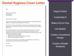 Fresh Design Dental Hygiene Cover Letter 3 The Perfect Cv Resume