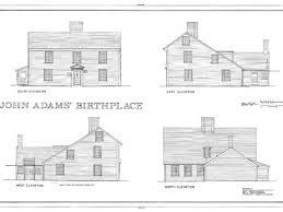 saltbox house plans. Antique Colonial Saltbox House Plans