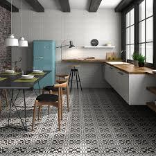 Black And White Patterned Floor Tiles Fascinating Black And White Floor Tiles Patterned Tiles Direct Tile Warehouse