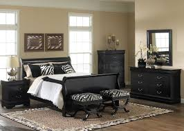 Modern Sleigh Bedroom Sets Monticello King Sleigh Bed Pecan Value City Furniture Black Queen