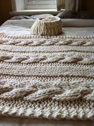 Cable Knit Blanket Pattern Amazing Decorating Ideas
