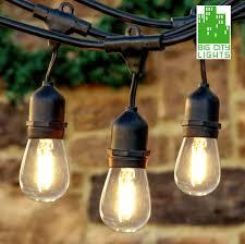 outdoor string lights weatherproof with vintage