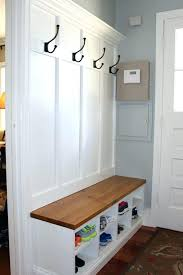 Entry Hall Bench With Coat Rack Inspiration Entry Hall Storage Bench Front Entrance Storage Bench Best Entryway