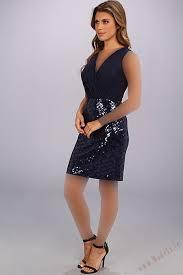تزئین لباس یقه گیپور سورمه ای