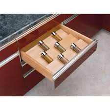 rev a shelf 19 75 in x 22 in wood e tray insert