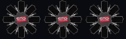 My Emg Chart Emg H4 Passive Electric Guitar Humbucker Pickup Black