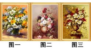 new cross stitch world famous paintings oil painting vase of roses embroidered diamond diy painting the