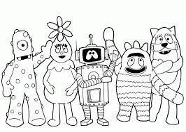 nick jr free coloring pages coloring home