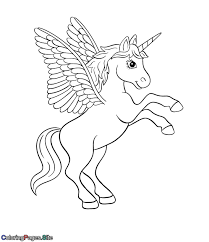 Coloring Unicorn Pages Valid Page Fresh Sheets For Toddlers