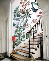Stairway Wallpaper Design 2019 Home Decor Trends Home Wallpaper Staircase Interior