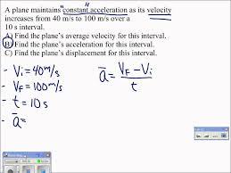 07 average acceleration problem