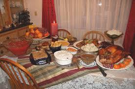 thanksgiving turkey dinner table.  Dinner On Thanksgiving Turkey Dinner Table N