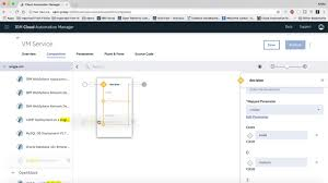 Ibm Streams Designer Service Composition In Ibm S Cloud Automation Manager