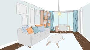 decorating a long and narrow living room