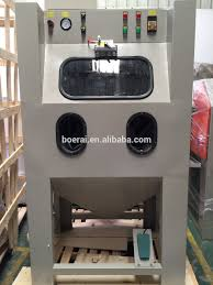 Stainless Steel Wet Blasting Machine / Wet Sand Blast Cabinet ...