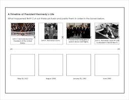 Free 5 Sample Biography Timelines In Pdf